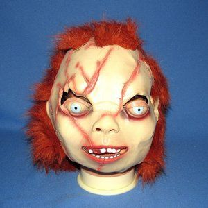 2004 SEED OF CHUCKY LATEX HALLOWEEN MASK